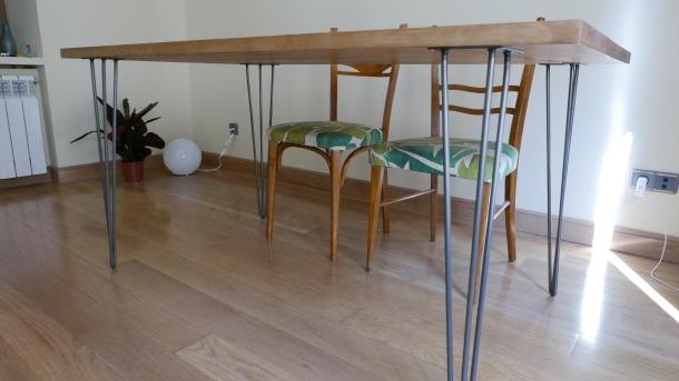 Una mesa de comedor DIY | Apuntamento